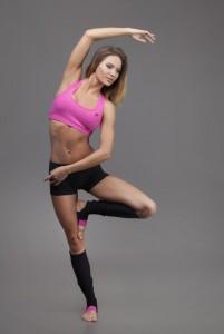 Christine Pink lábfejes lábszárvédő