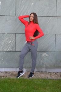 IRINA fitnesz-sport felsőrész