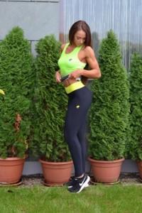 HANNA fitnesz-sport nadrág