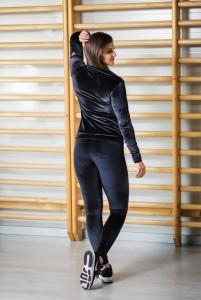 Sylwia bársony leggings