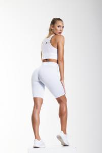 Kesha fehér hálós topp
