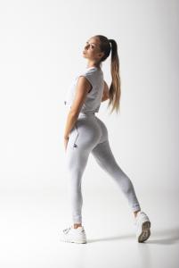 Amel grey pamut top