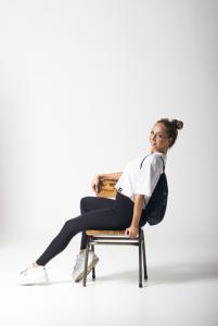 Karina white oversize póló