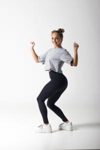 Karina grey oversize póló