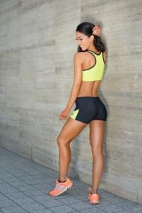Asia Lime fitnesz sportmelltartó