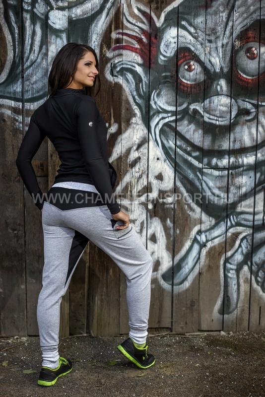 Iris BG női fitnesz-sport cipzáros felső ... 362530e505