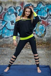 GABY női fitnesz nadrág